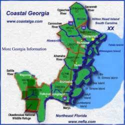 map of coastal cities coastal ga coastalga