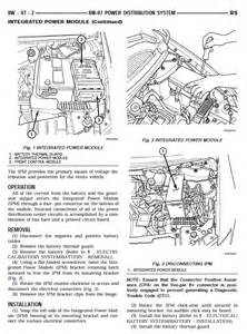 2006 Chrysler Pacifica Electrical Problems Page 3 Electrical Problem 2006 Chrysler Town And