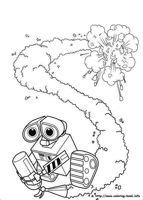 coloring book wall wall e coloring picture