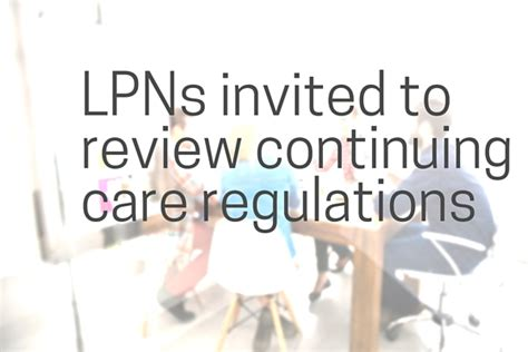 design guidelines for continuing care facilities in alberta lpns invited to review continuing care regulations at open