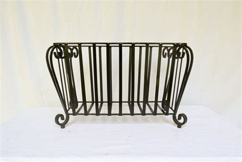 Metal Plant Rack by Iron Plant Stand Metal Planter Vintage Rod Iron By