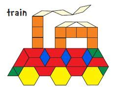 name of pattern block shapes 1000 images about first grade math ideas on pinterest