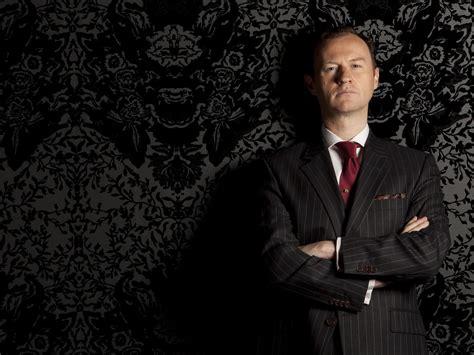 mycroft holmes mark gatiss mark gatiss to write doctor who drama for 50th anniversary