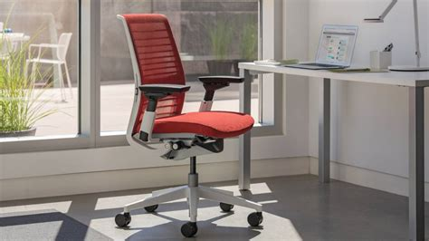 Dual Desk Office Ideas Think Sustainable Desk Chair Steelcase