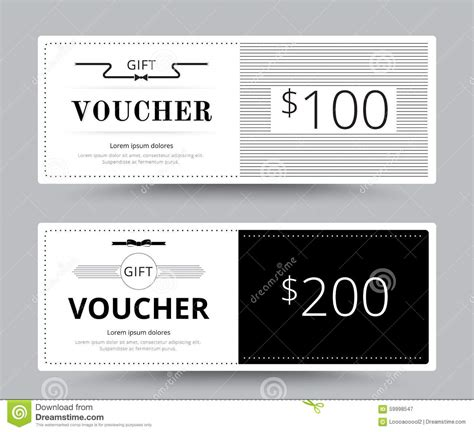 photography coupon template gift voucher card template design for special time