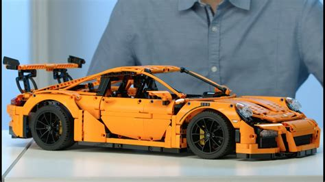 Porsche 911 Lego by Porsche 911 Gt3 Rs Lego Technic 42056 Designer Video
