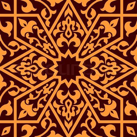 pattern arabian arabian eastern seamless ornament for background design