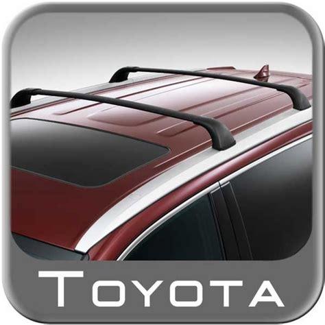 Roof Rack For Toyota New 2014 2017 Toyota Highlander Roof Rack Crossbar Set