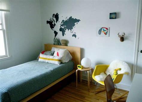 modern boys room mid century modern boys bedroom i love the map on the