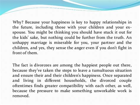 After Divorce after divorce will get better