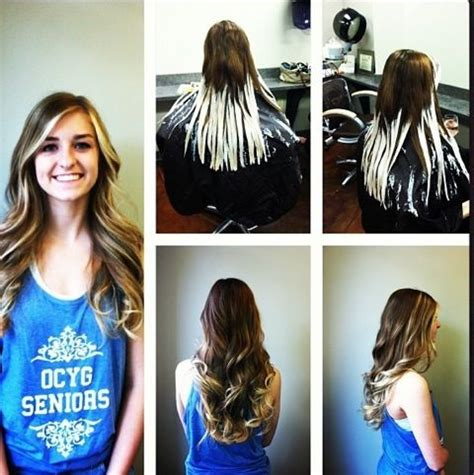 ombre hair color technique balayage ombre and ombre technique on