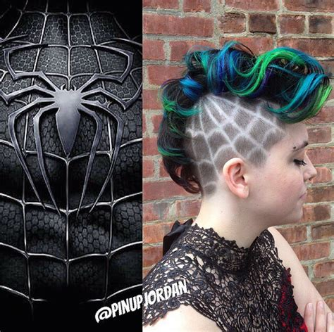 superhero hairstyles awesome hairstyles inspired by colors styles of beloved