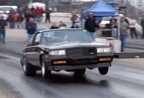buick grand national racing tony gomes v6 buick grand national goes sevens