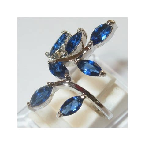 Cincin Cz 5 cincin gold filled model ranting daun 7 sapphire cz ring 6us
