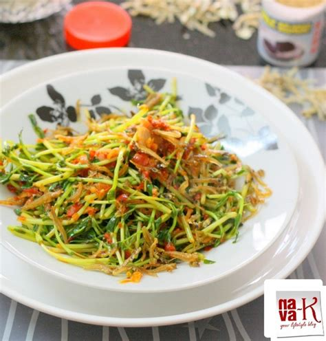 Teh Pucuk Per Box pucuk kacang goreng cili pea shoots stir fried with chilli recipe by navaneetham cookeatshare