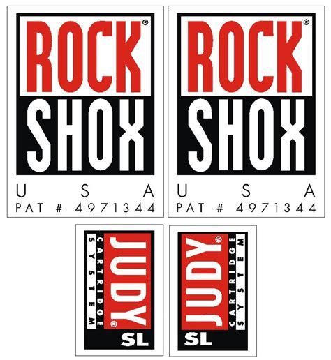 Rockshox Retro Stickers by Rockshox Judy Logo S Gil M Is The Decal God Page