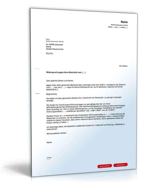 wohnung mieten düsseldorf mit arge widerspruch fehlerhafte berechnung mietkosten vorlage