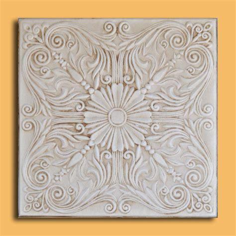 20 quot x20 quot astana aged ivory foam ceiling tiles antique