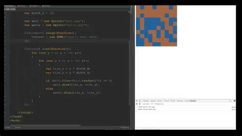 tutorial javascript en html javascript html game development tutorial 4 tile map