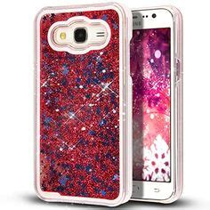 Soft Water Glitter For Samsung J7 Prime clear glitter dynamic water liquid for samsung
