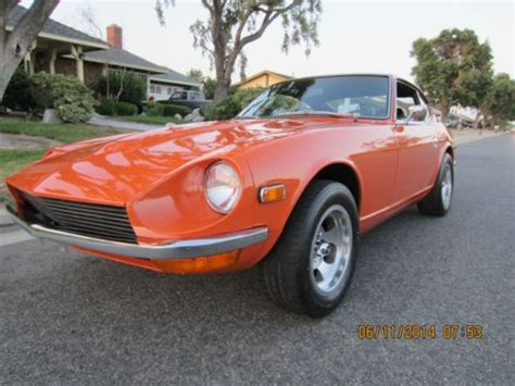 restored datsun buy used restored datsun 1970 240z series i 2041 918