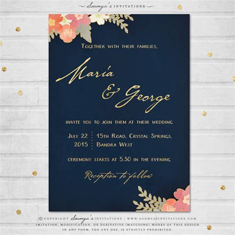 Wedding Invitations   Soumya's Invitations