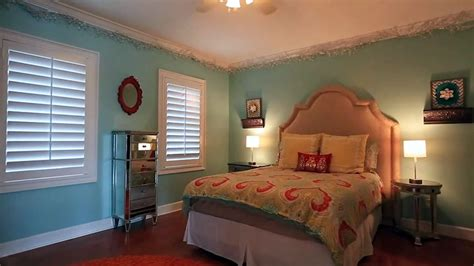 blue guest bedroom southern colonial house design pictures designing idea