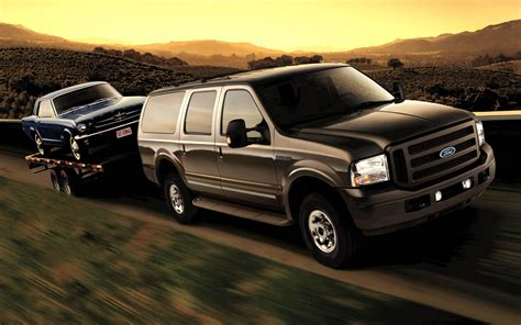2007 ford excursion 2005 ford excursion front three quarter photo 2