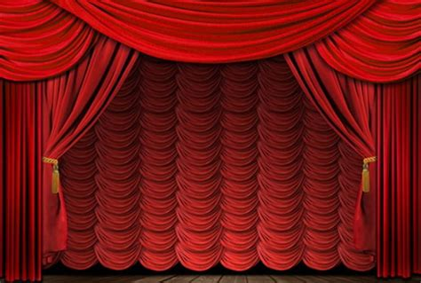 Velvet Stage Curtains To For Theater Texting Investorplace