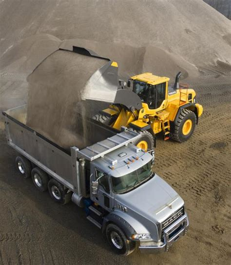 volvo sand rehandling and flat floor buckets for l110