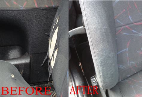 Car Interior Cloth Repair by Bumper Alloys Car Seat And Dashboard Repairs West Midlands