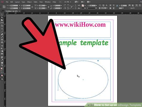 How To Set Up An Indesign Template 13 Steps With Pictures How To Create A Template In Indesign