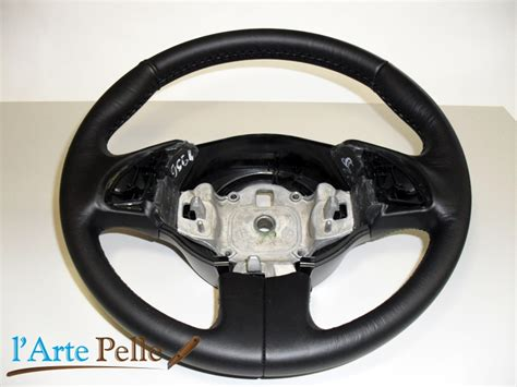 volante nuova fiat 500 cubierta volante fiat nuova 500 cuero negro cortes