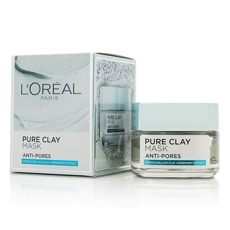 l oreal loreal clay mask 50g l oreal clay anti pores mask fresh