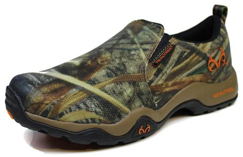 s realtree outfitters 174 ranger slip on jungle moc trail