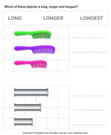 comparing length of objects turtlediary com