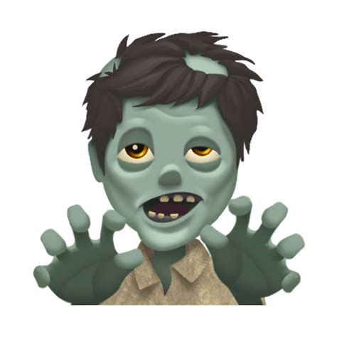 Emoji Zombie | apple just previewed the new emojis coming to the iphone