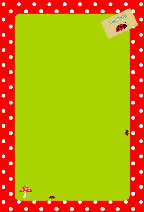 Printable Polka Dot Stationery | free printable polka dot stationery quot gl 252 cksp 252 nktchen