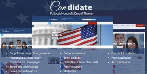 drupal themes nonprofit candidate political nonprofit drupal theme traclaborat