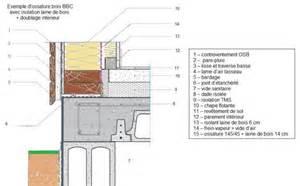 descriptif mat 233 riaux de construction murs en ossature bois