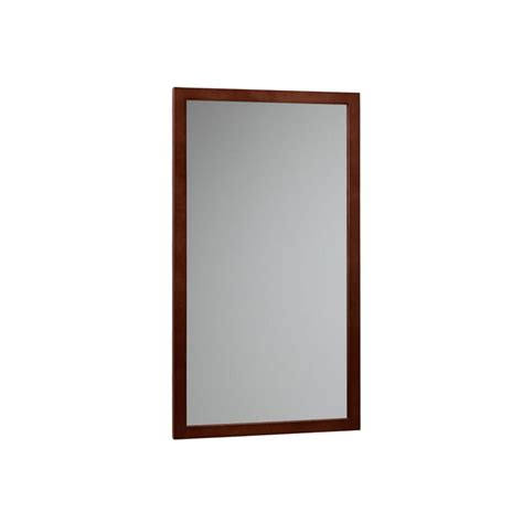 dark wood bathroom mirror ronbow contemporary solid wood framed bathroom mirror in