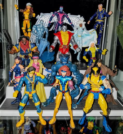 x figure collection blue and gold 1990 s prodigeek s figure
