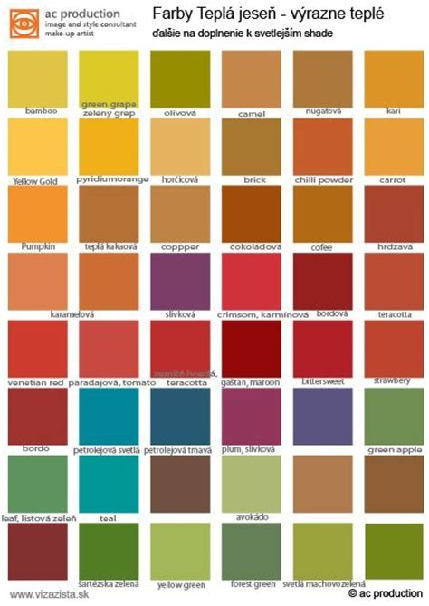 autumn color palette 25 best ideas about warm autumn on pinterest autumn