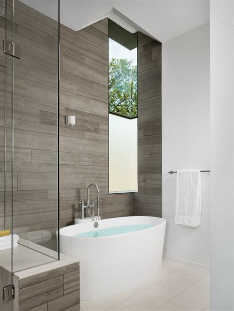 Modern Bathroom Tiling Modern Bathroom Tile Bathroom Contemporary With Clear Glass Shower Stall Beeyoutifullife