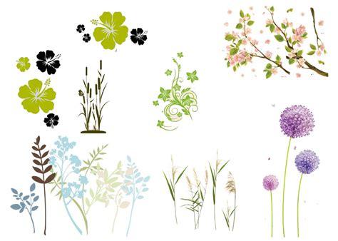 blumen und pflanzen wandtattoo pflanzen ranke bl 252 ten blumen