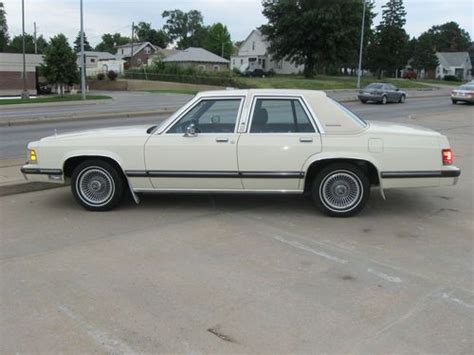 how to sell used cars 1989 mercury grand marquis electronic valve timing purchase used 1989 mercury grand marquis all original 59k very clean excellent condition in