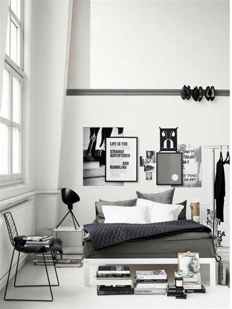 Monochrome Bedroom Design Ideas Czarno Biała Sypialnia Kokopelia Design Kokopelia Design