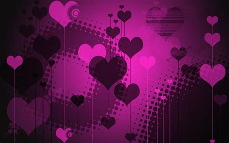 wallpaper gothic pink black gothic hearts abstract other hd desktop wallpaper