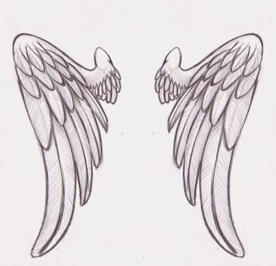 inked angel wings by srtaquesadilla on deviantart