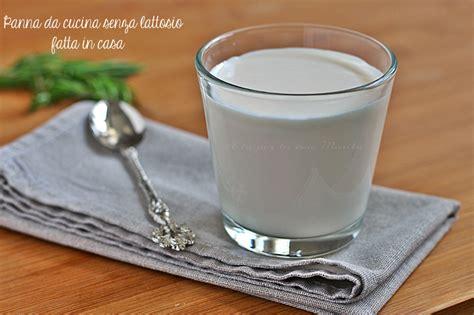 cucina senza lattosio panna da cucina senza lattosio fatta in casa a tu per tu